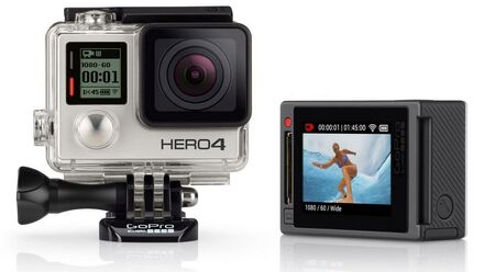 GoPro HD HERO4 Silver Surf Edition