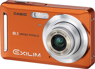 Casio EXILIM Z9 oranžový