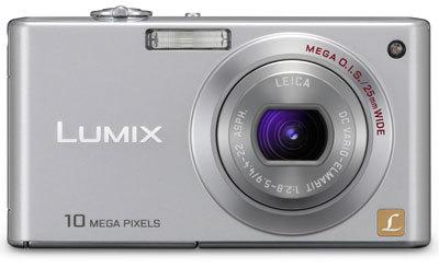 Panasonic Lumix DMC-FX37 stříbrný