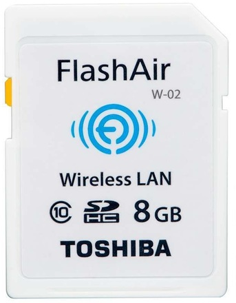 Toshiba SDHC 8GB FlashAir Wireless