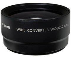 Canon širokoúhlá předsádka WC-DC52