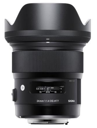 Sigma 24 mm f/1,4 DG HSM Art pro Canon
