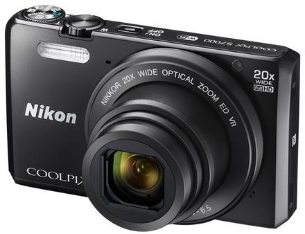 Nikon S7000 + originální pouzdro zdarma! černý