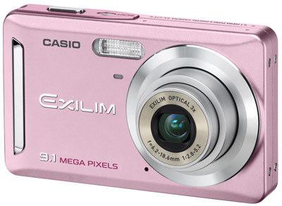 Casio EXILIM Z19 světle růžový