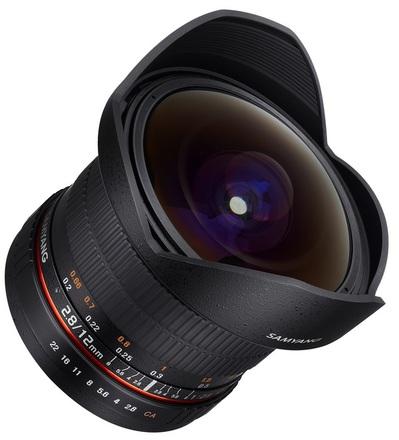 Samyang 12mm f/2.8 ED AS NCS Fisheye pro Canon