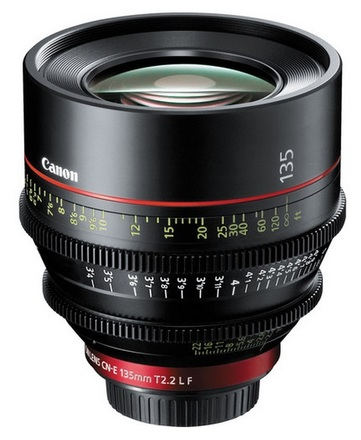 Canon EF CINEMA CN-E 135mm T/2,2 L F