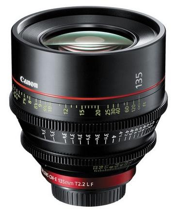Canon EF CINEMA CN-E 135mm T/2,2 L F