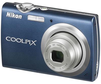 Nikon CoolPix S230 modrý