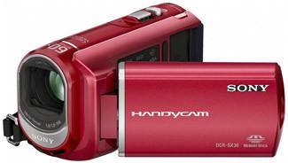 Sony DCR-SX30E červená + brašna DFV42 zdarma!