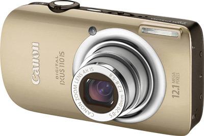 Canon IXUS 110 IS zlatý