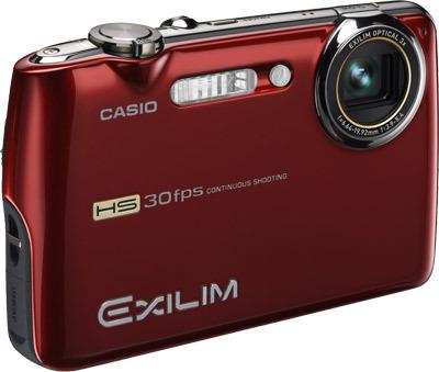 Casio EXILIM FS10 červený