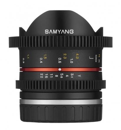 Samyang 8mm T/3,1 Cine NCS CS II pro Fuji X