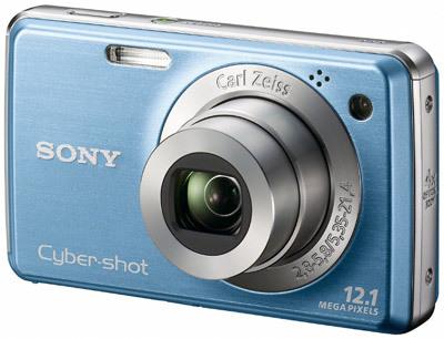 Sony CyberShot DSC-W220 modrý