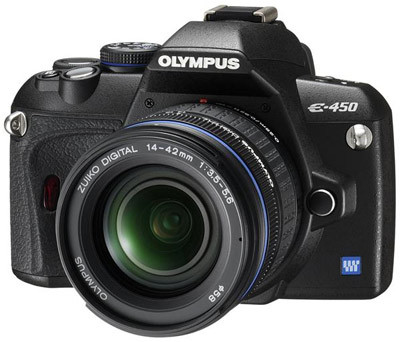 Olympus E-450 Double Zoom Kit
