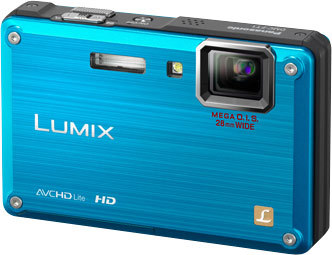 Panasonic Lumix DMC-FT1 modrý