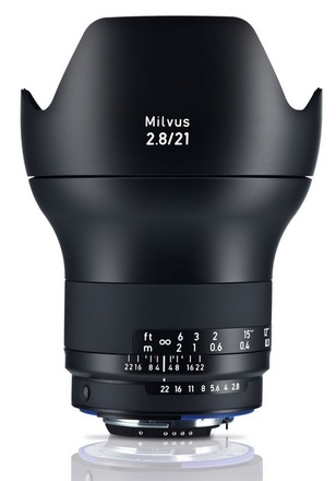 Zeiss Milvus 21mm f/2,8 ZF.2 pro Nikon