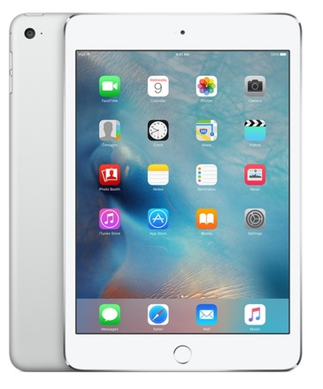 Apple iPad mini 4 WiFi 16GB stříbrný