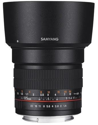 Samyang 85mm f/1,4 pro Canon
