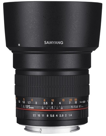 Samyang 85mm f/1,4 pro Pentax