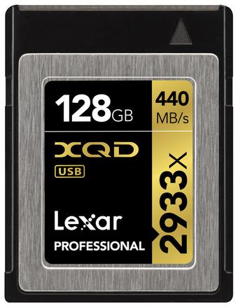 Lexar XQD 128GB 2933x Professional