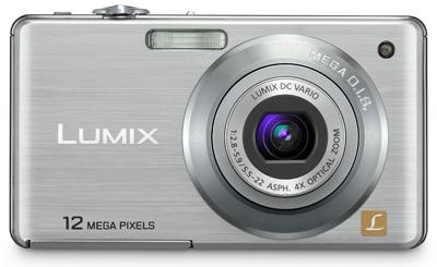 Panasonic Lumix DMC-FS12 stříbrný