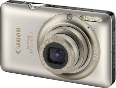 Canon IXUS 120 IS stříbrný