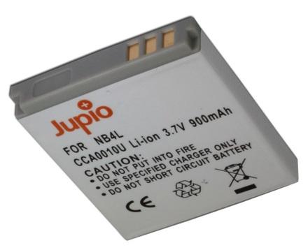 Jupio akumulátor NB-4L pro Canon