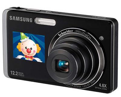 Samsung ST500 stříbrný