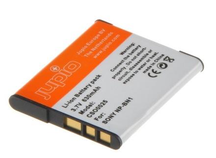 Jupio akumulátor NP-BN1 pro Sony - Zánovní!