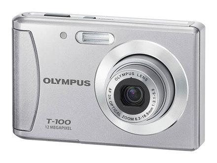 Olympus T-100 stříbrný
