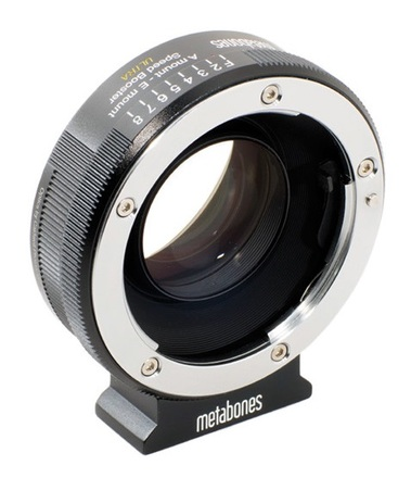 Metabones Speed Booster ULTRA T 0.71x z Sony Alpha na Sony E