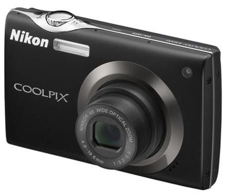 Nikon Coolpix S4000 černý