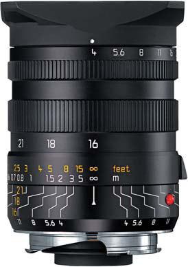 Leica 16-18-21mm f/4,0 ASPH TRI-ELMAR-M