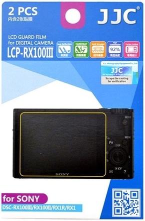 JJC ochranná folie LCD LCP-RX100 pro Sony CyberShot RX100 I-V a RX1(R)