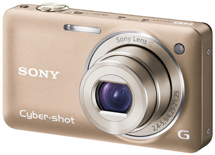 Sony CyberShot DSC-WX5 zlatý