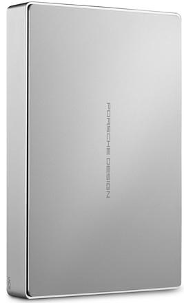 """LaCie Porsche Design Mobile 4TB HDD, 2.5"""" USB-C (USB 3.0), hliníkový, světle šedý"""