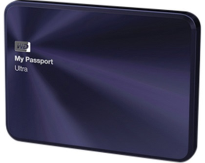 "Western Digital My Passport Ultra Metal Edition 3TB, 2.5"" USB 3.0,"