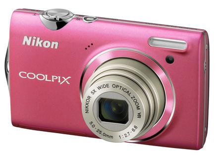 Nikon CoolPix S5100 růžový