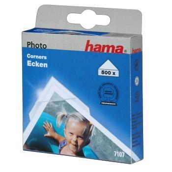 Hama fotorůžky samolepící, transparentní, 500 ks