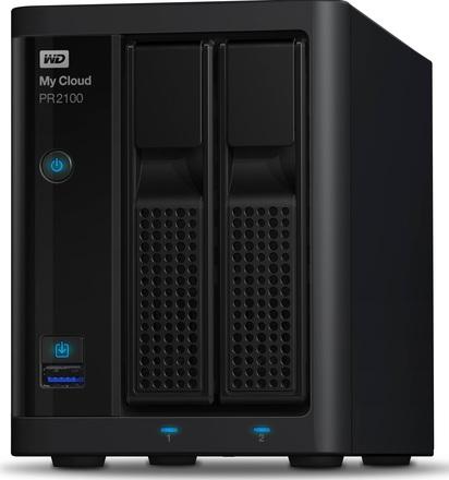 "Western Digital My Cloud Pro PR2100 16TB (2x8TB), 3.5"" NAS, černý"