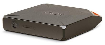 LaCie Fuel 2TB HDD, USB 3.0, Wi-Fi