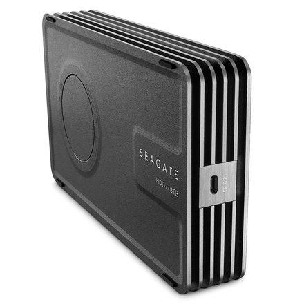 """Seagate Innov8 8TB HDD, 3.5"""" USB-C (USB 3.1), hliníkový, černý"""