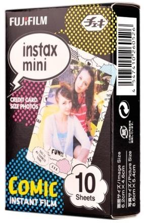 Fujifilm Instax mini colorfilm Comic