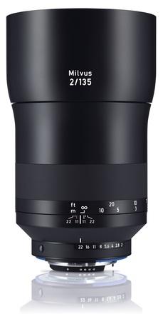 Zeiss Milvus 135mm f/2 ZE pro Canon