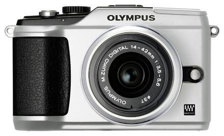Olympus E-PL2 stříbrný + 14-150 mm