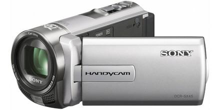 Sony DCR-SX45E stříbrná