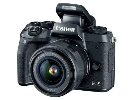 Canon EOS M5 + 18-150 mm IS STM + adaptér EF-EOS M, černý