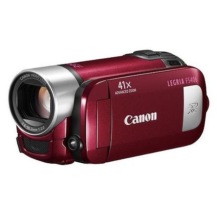 Canon LEGRIA FS406 červená