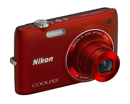 Nikon Coolpix S4100 červený