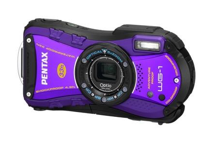 Pentax Optio WG-1 fialový
